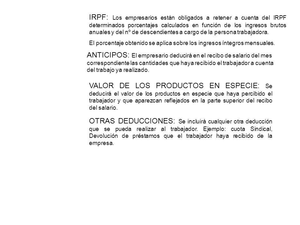 IRPF: Los empresarios están obligados a retener a cuenta del IRPF determinados porcentajes calculados en función de los ingresos brutos anuales y del