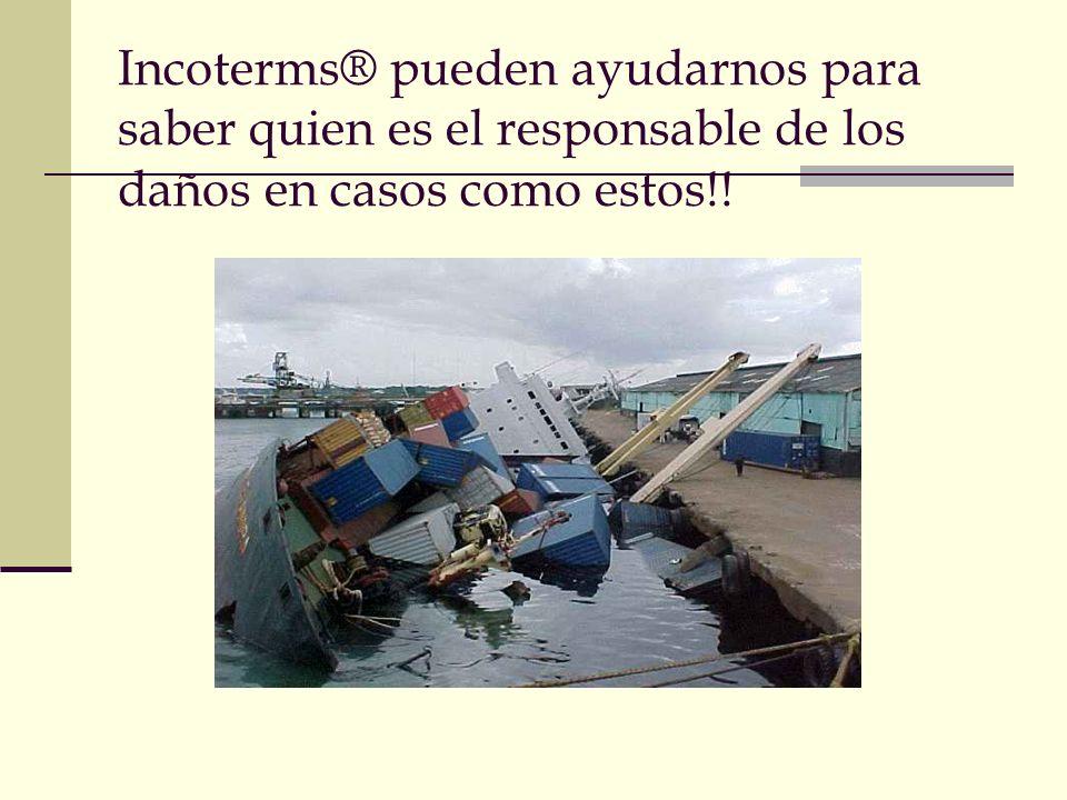 Agenda INCOTERMS 2010 II. Finalidad de los INCOTERMS