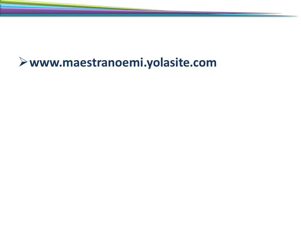 www.maestranoemi.yolasite.com