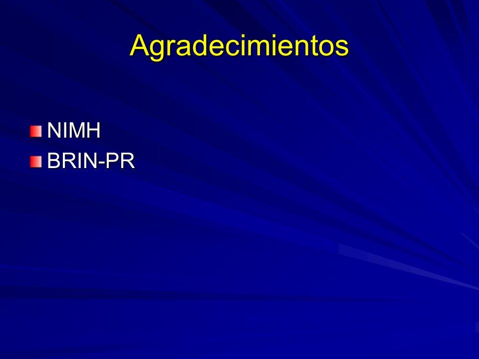 Agradecimientos NIMHBRIN-PR