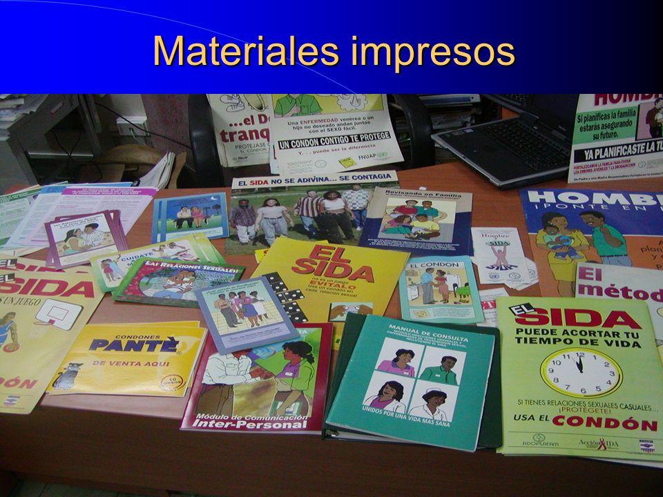 Materiales impresos