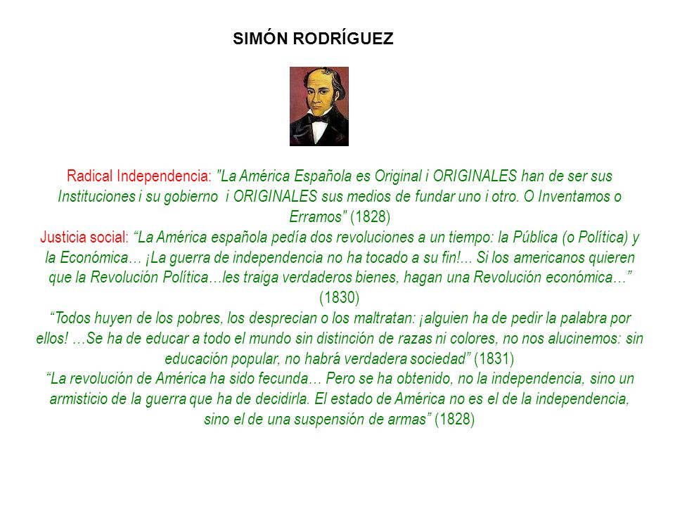 Radical Independencia: