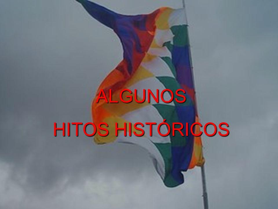 ALGUNOS HITOS HISTÓRICOS
