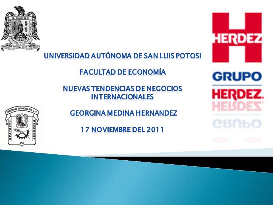 I.Historia II. Visión, Misión y Valores III. Herdez en México IV.