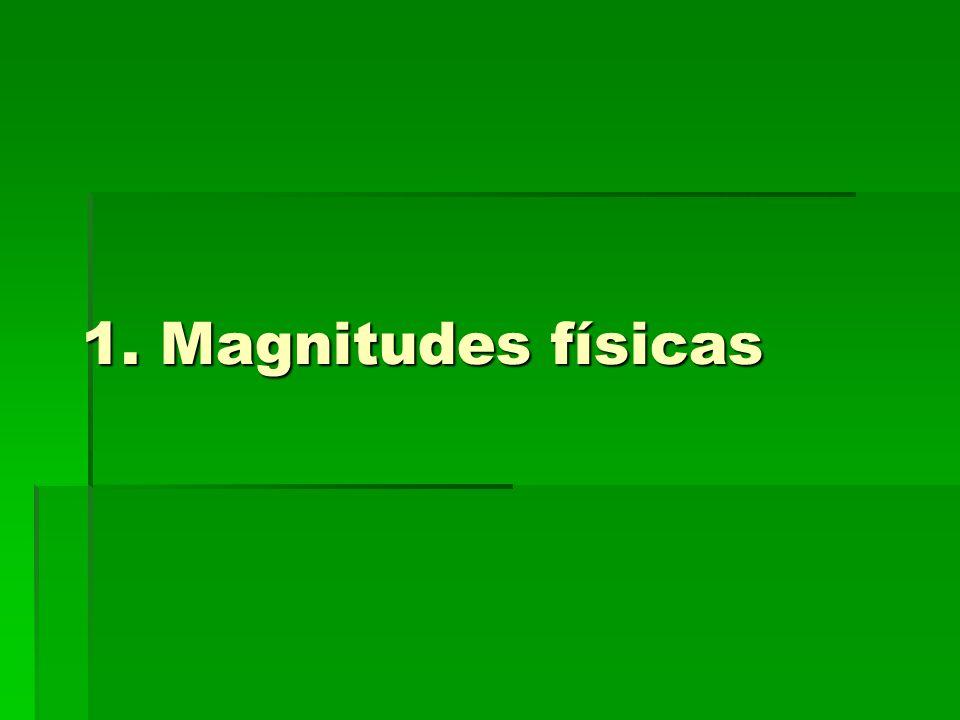 1. Magnitudes físicas