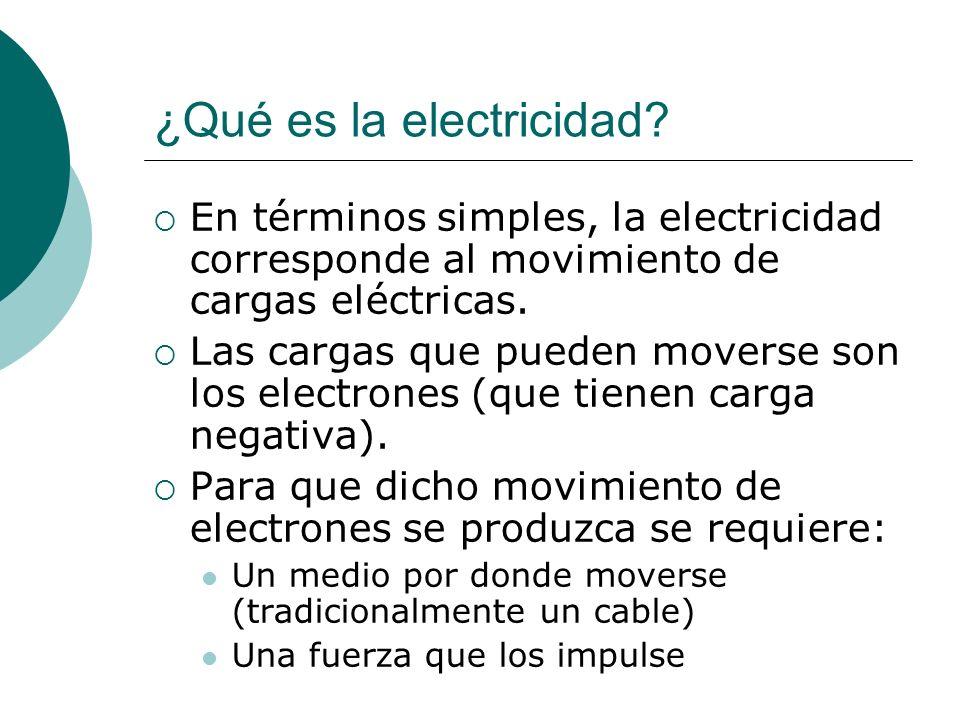 Intensidad de corriente Número o cantidad de cargas que pasan por un lugar en una unidad de tiempo Se representa por la letra I y se mide en Amperes (A) 1 A = 1 C / 1 s