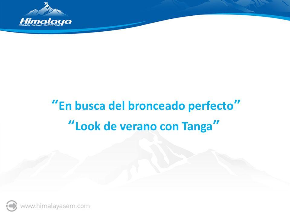 En busca del bronceado perfecto Look de verano con Tanga