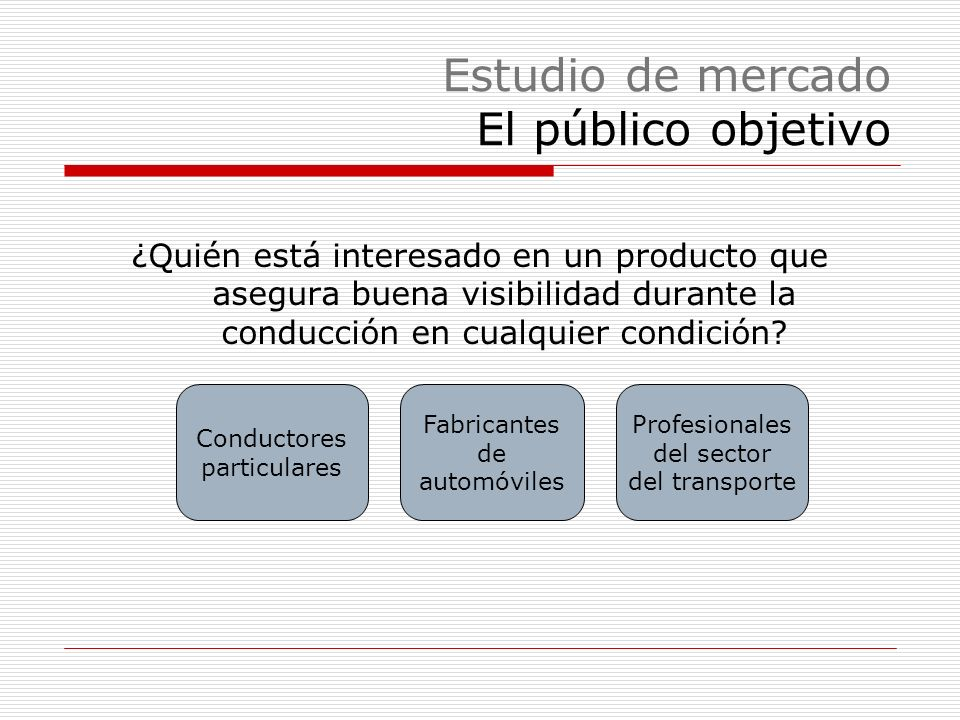 Plan de marketing Política de distribución Subcontratación de empresas de transporte A través de cadenas de talleres