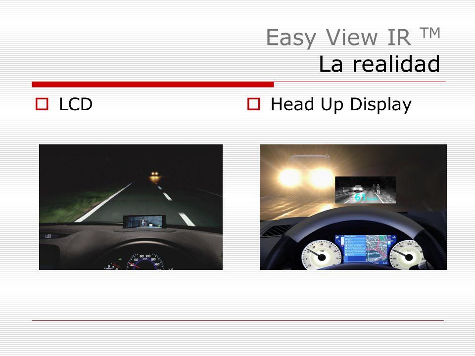 Easy View IR TM La realidad LCD Head Up Display