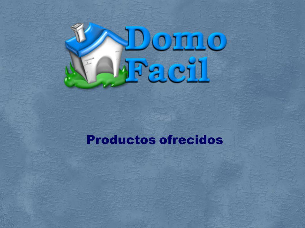 Kit DomoLight SL Sensor de Presencia (SP) MI ON/OFF SP Nuestro producto estrella Oportunidad de mercado Productos Ofrecidos Estructura de producción Estudio de Márketing Viabilidad Económica Conclusiones Nuestra empresa