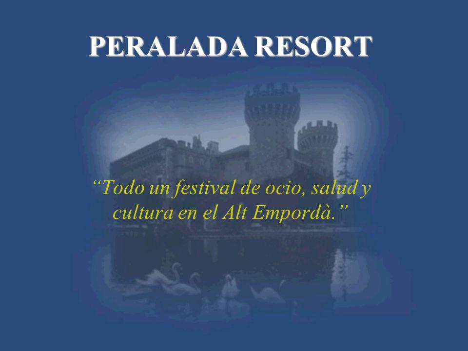 PERALADA RESORT Todo un festival de ocio, salud y cultura en el Alt Empordà.
