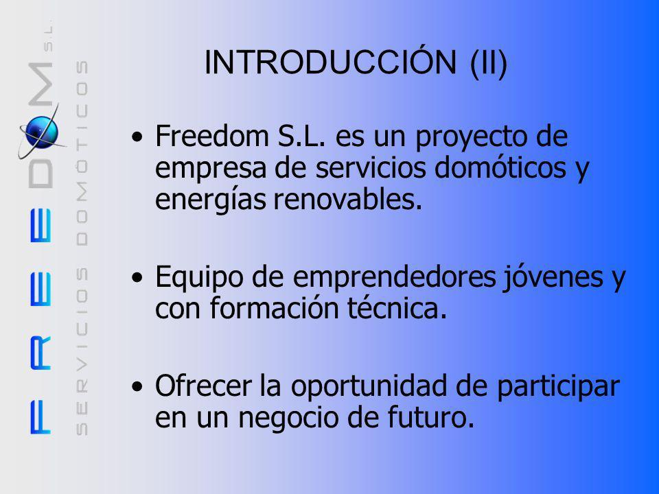 ANÁLISIS DE MERCADO (II) Cifras: –Facturación en España en el mercado de la domótica.