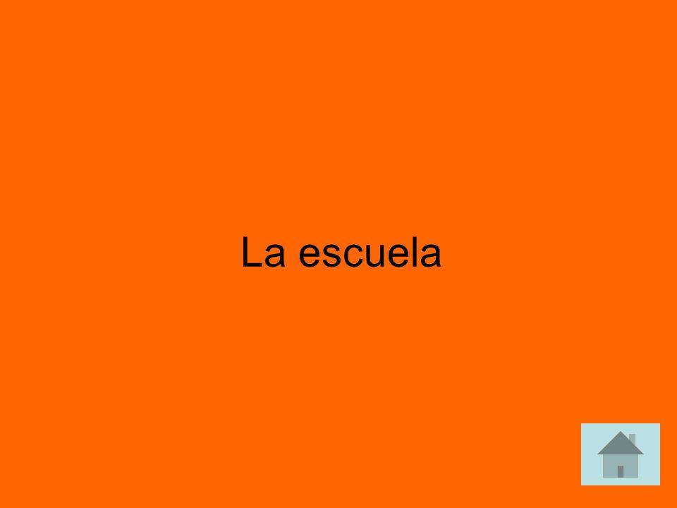 ¿Cómo se dice school en español answer answer