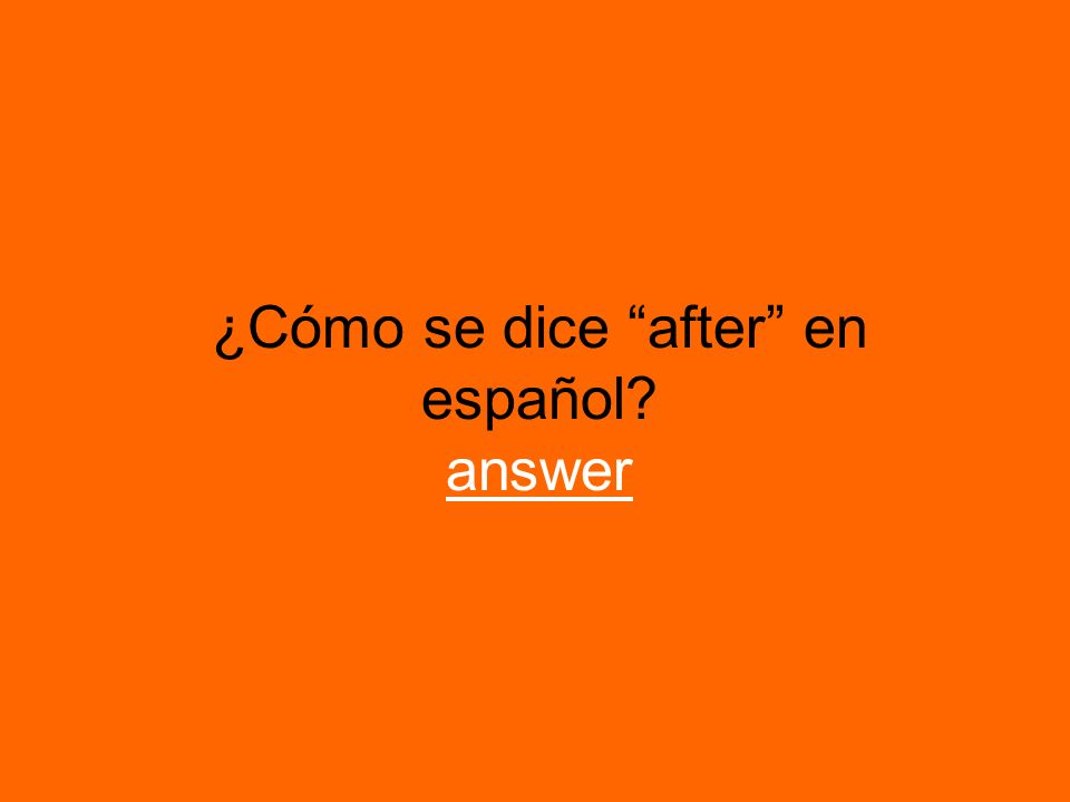 ¿Qué le gusta hacer a ud.? (rest) answer answer