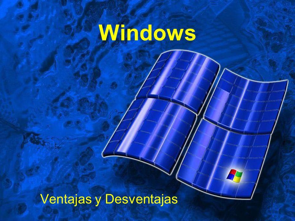 Windows Ventajas y Desventajas