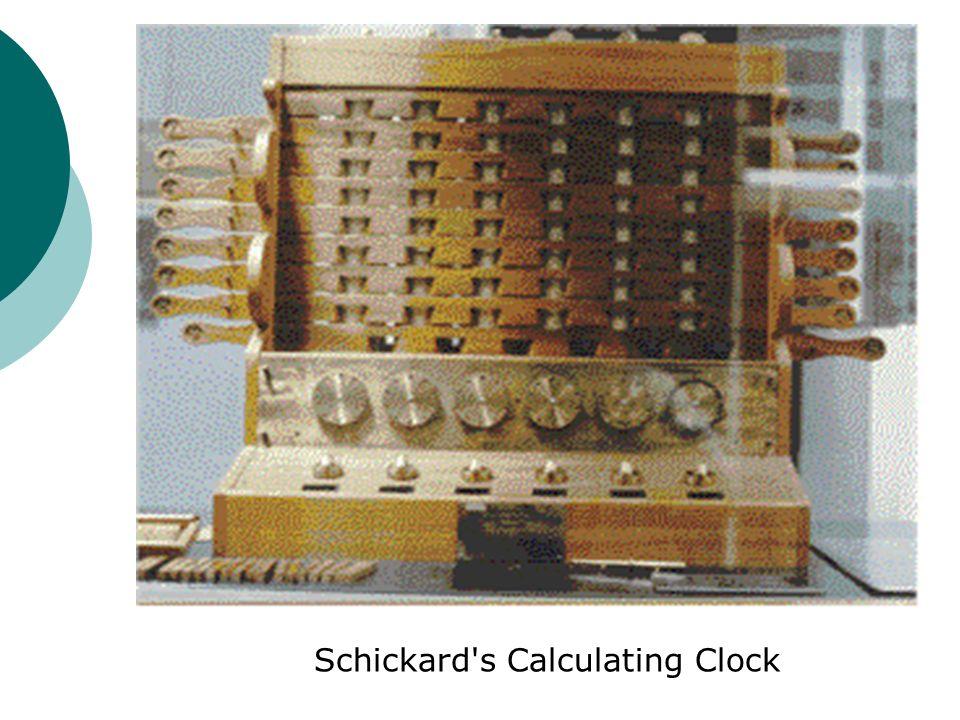 Schickard's Calculating Clock