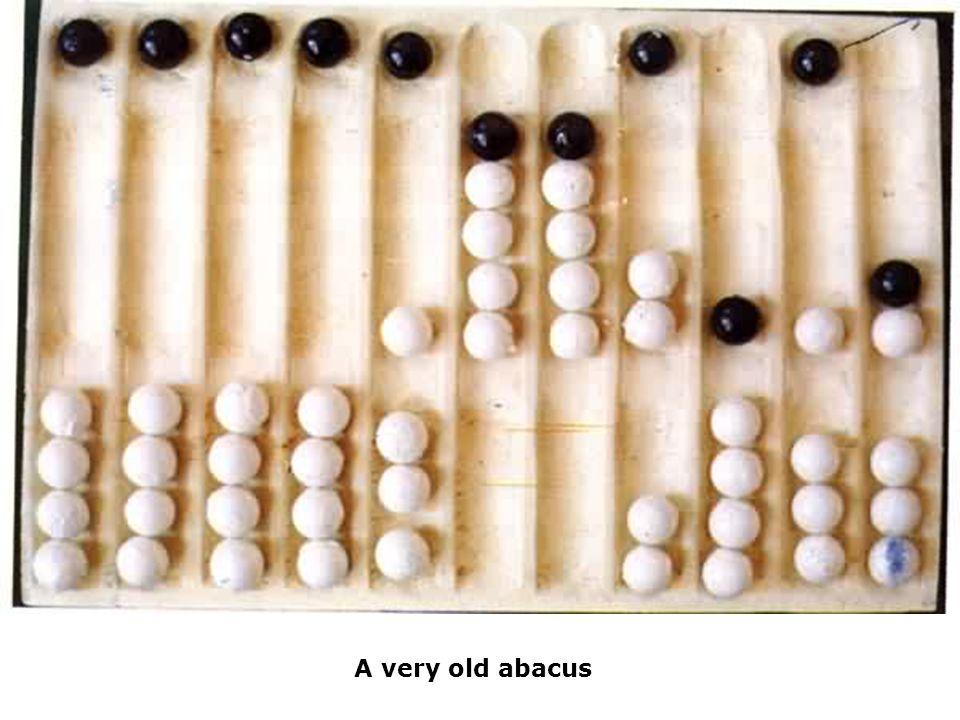 Babbage vio que el patrón de agujeros se podría utilizar para representar una idea abstracta tal como una declaración del problema o las informaciones en bruto requeridas para la solución de ese problema.