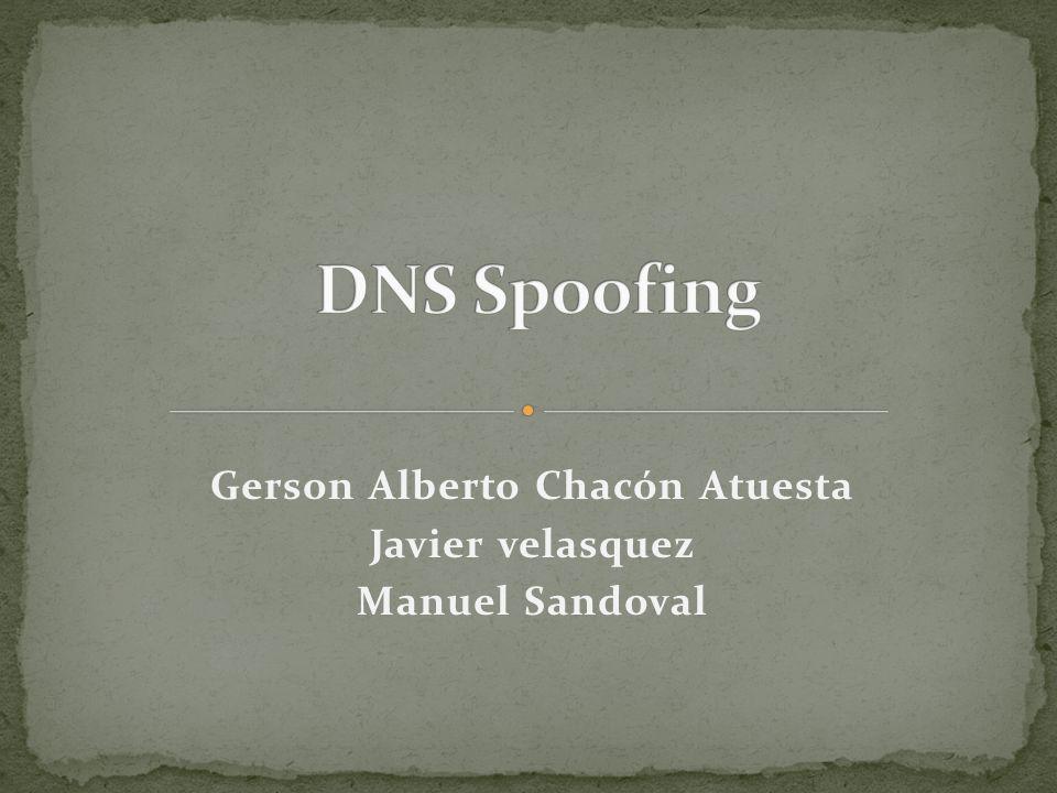Gerson Alberto Chacón Atuesta Javier velasquez Manuel Sandoval