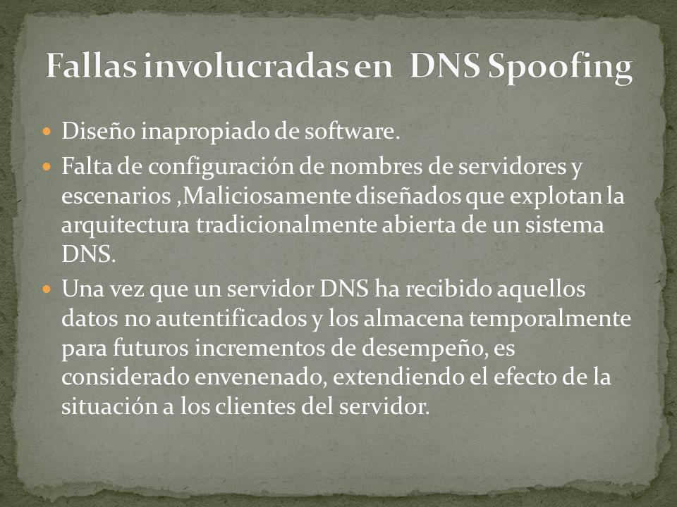 Redirigir el nombre del servidor del atacante del dominio hacia el servidor de nombres del dominio objetivo o del especificado por el atacante redirigir el servidor de nombres de otro dominio hacia otro dominio no relacionado a la petición original de una dirección IP especificada por el atacante.