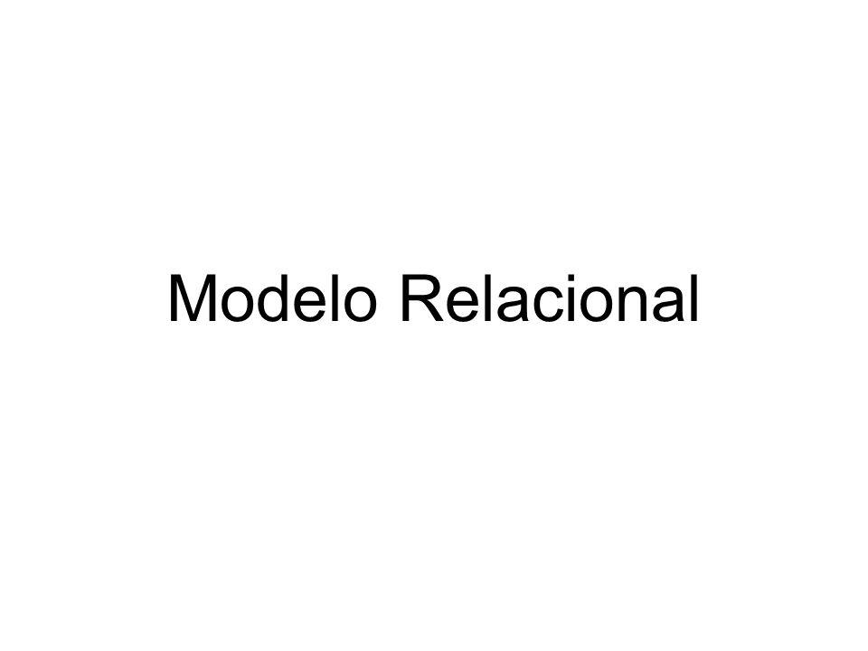 E.F. Codd - modelo relacional en1970.