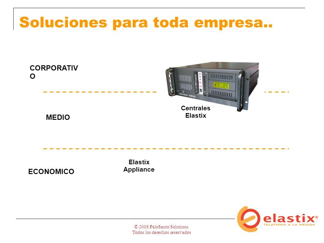 © 2008 PaloSanto Solutions. Todos los derechos reservados Soluciones para toda empresa..
