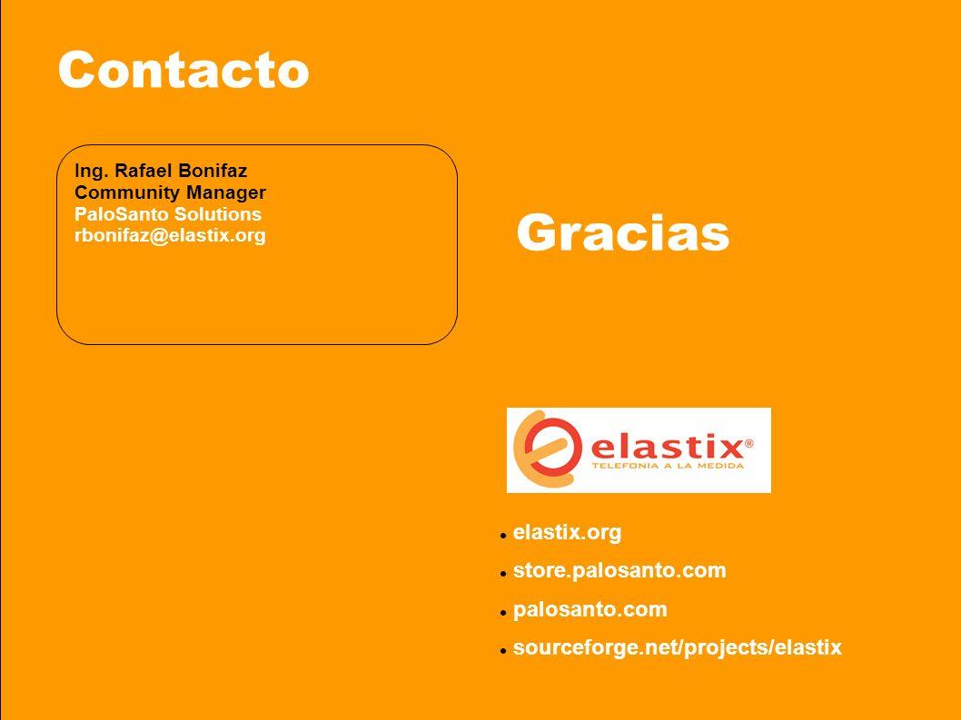 © 2008 PaloSanto Solutions. Todos los derechos reservados Contacto Ing.