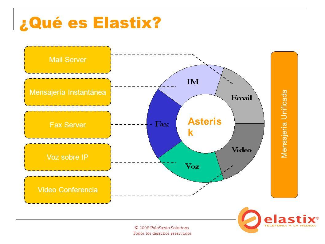 © 2008 PaloSanto Solutions. Todos los derechos reservados ¿Qué es Elastix.