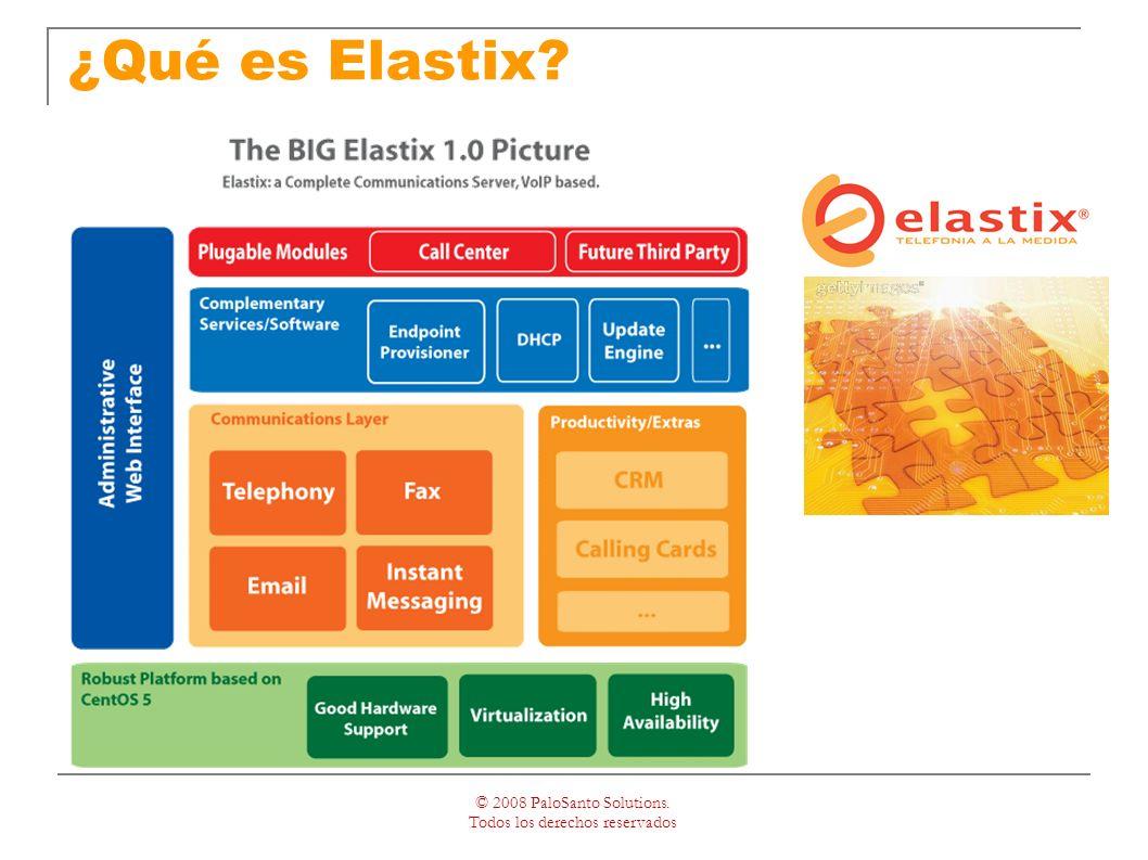 © 2008 PaloSanto Solutions. Todos los derechos reservados ¿Qué es Elastix
