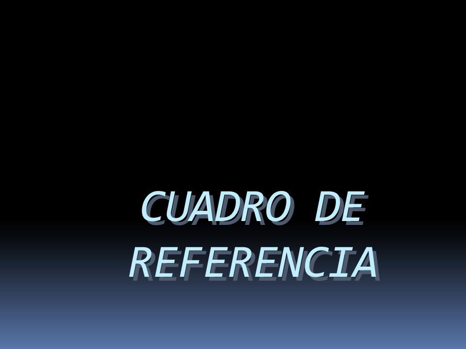 CUADRO DE REFERENCIA