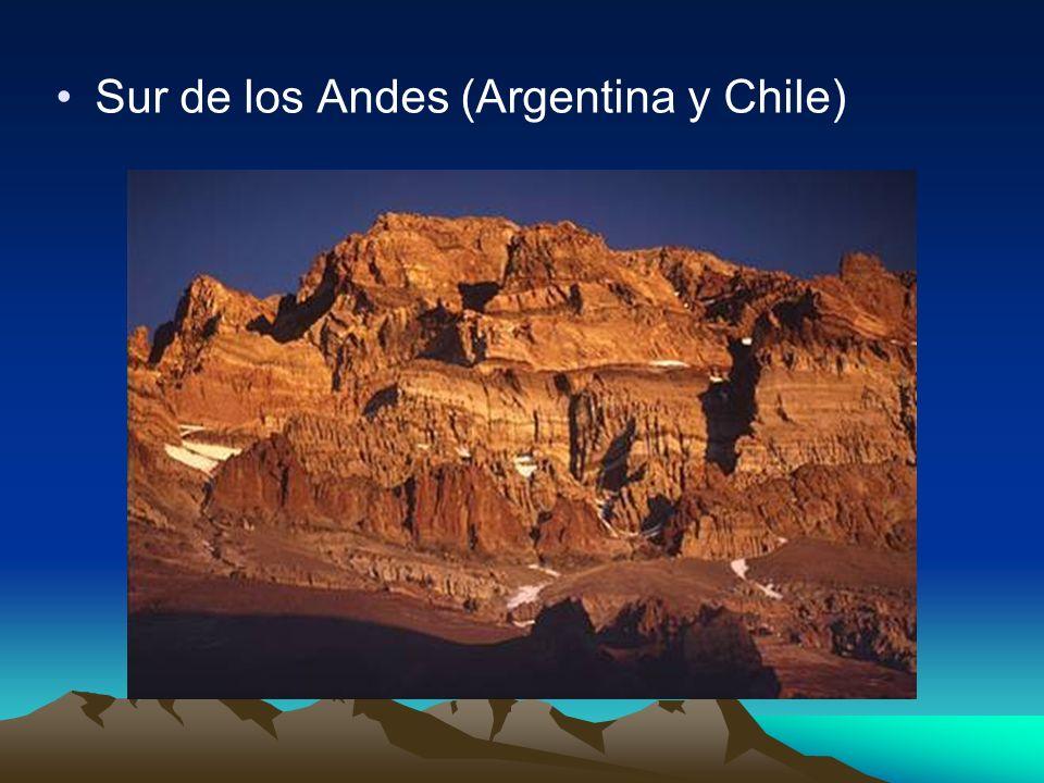 Sur de los Andes (Argentina y Chile)