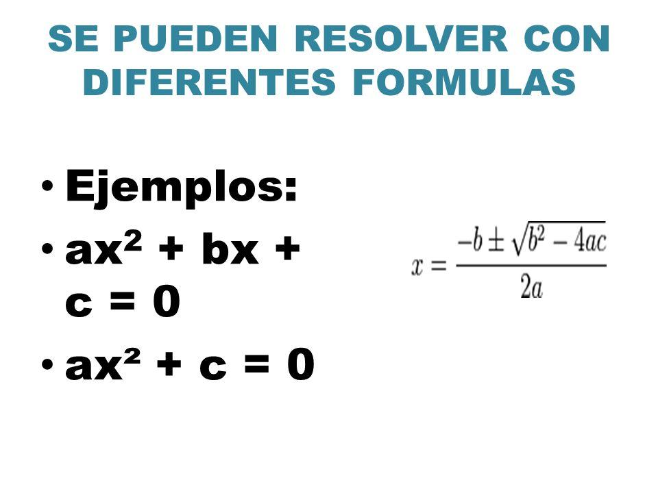 Ejemplos Problema 1 Averigua dos números cuya suma es 32 y su producto 255.