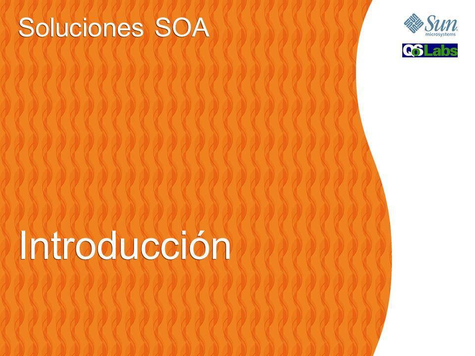 Soluciones SOA Introducción Soluciones SOA Introducción
