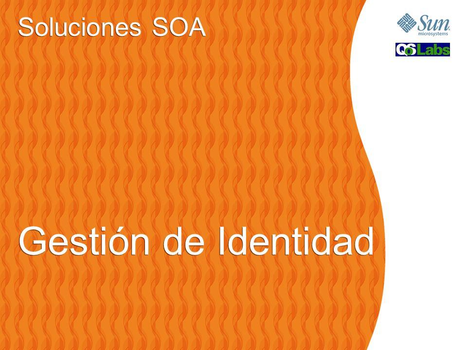 Soluciones SOA Gestión de Identidad Soluciones SOA Gestión de Identidad
