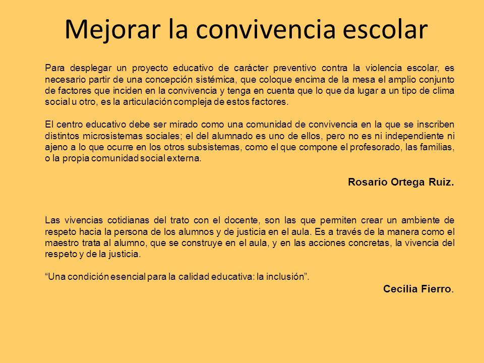 Maestros y escuelas en movimiento Estrategias de contención.