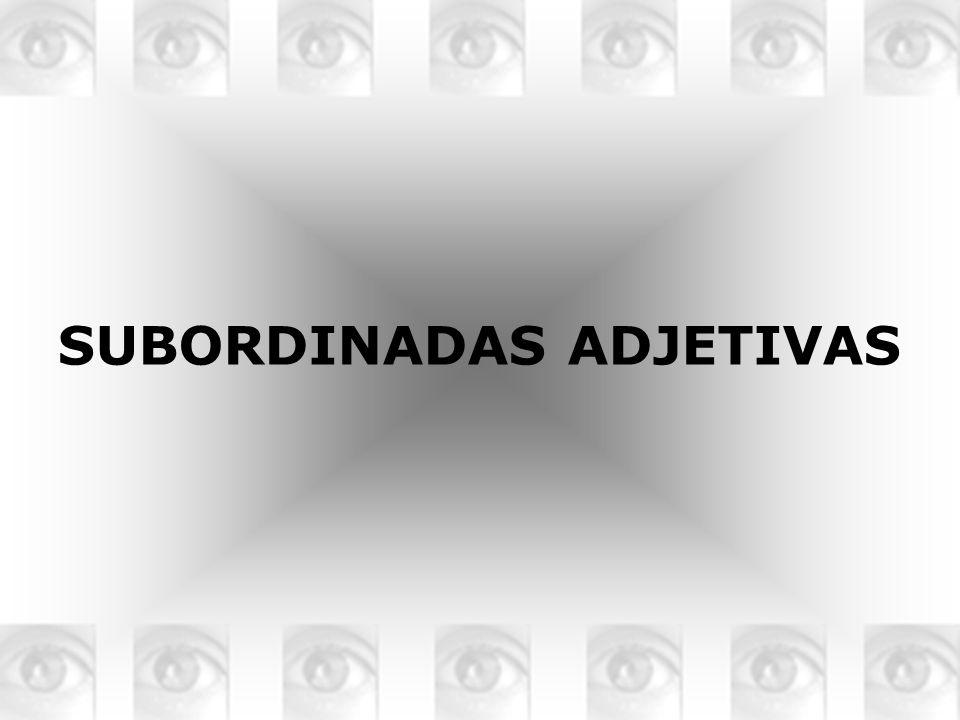 ADVERBIOS RELATIVOS DONDE, CUANDO Y COMO Son invariables Puede aparecer con preposición o sin ella Cuando la preposición tiene el mismo significado del adverbio se suele omitir