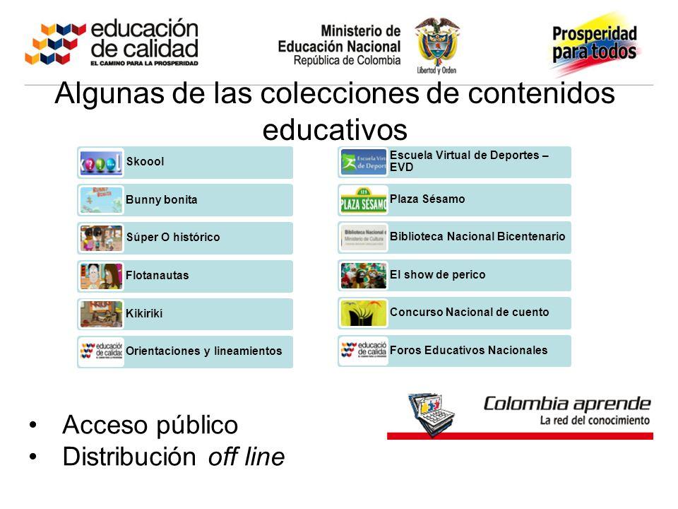 Escuela Virtual de Deportes – EVD Plaza Sésamo Biblioteca Nacional Bicentenario El show de perico Concurso Nacional de cuento Foros Educativos Naciona