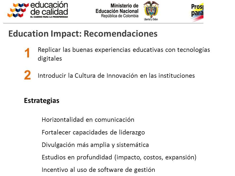 BOG-AAA123-20110325- Education Impact Un mecanismo ampliamente utilizado y notablemente inefectivo es