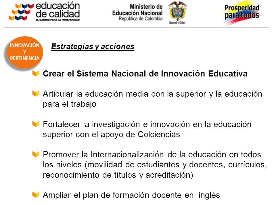 BOG-AAA123-20110325- Educar con pertinencia para la innovación y la prosperidad INNOVACIÓNYPERTINENCIA OBJETIVO