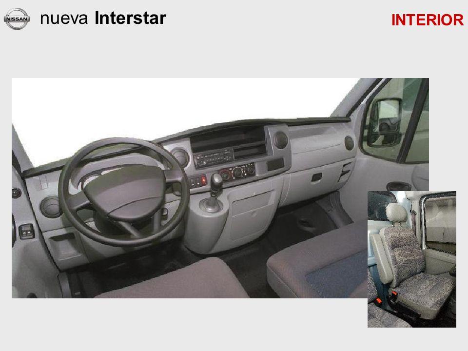 nueva Interstar INTERIOR
