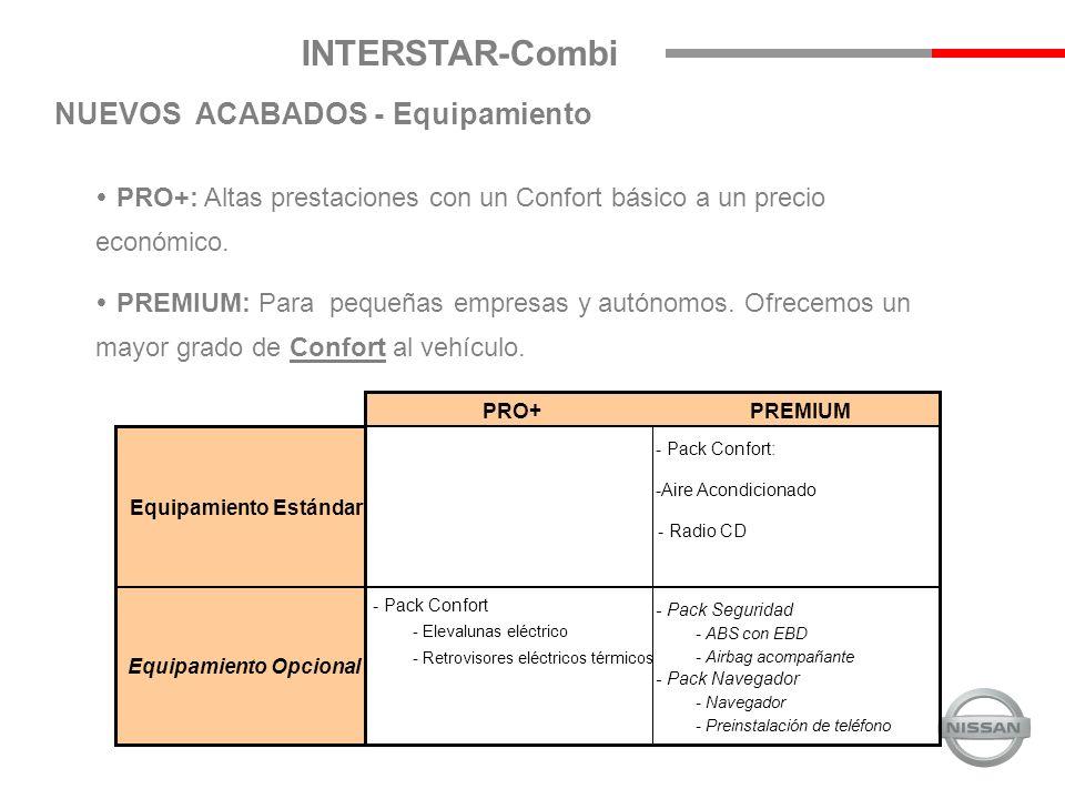 INTERSTAR-Combi PRO+: Altas prestaciones con un Confort básico a un precio económico.