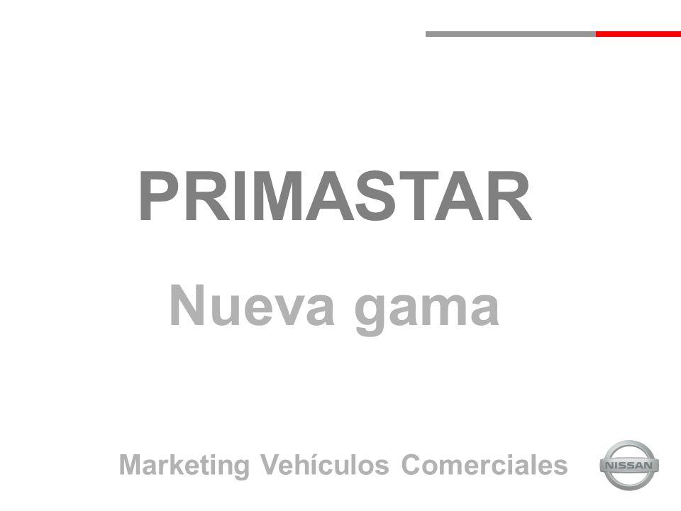 PRIMASTAR Nueva gama Marketing Vehículos Comerciales