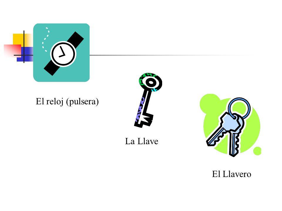 El reloj (pulsera) La Llave El Llavero