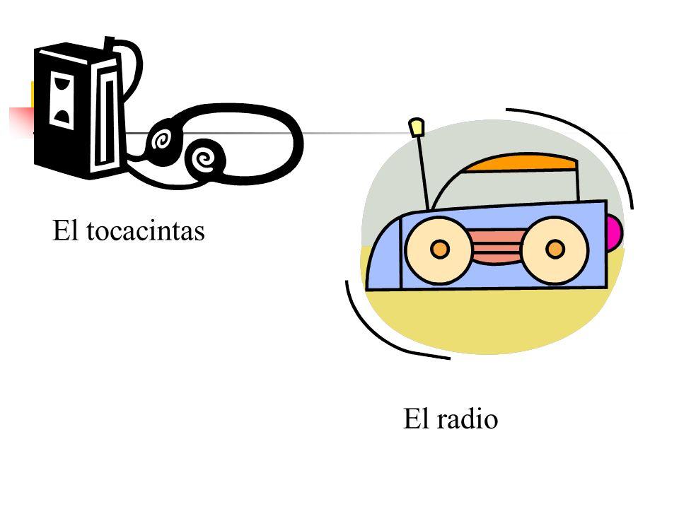 El tocacintas El radio