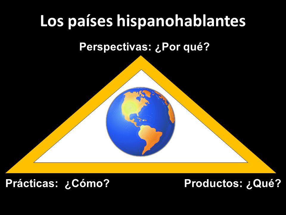 Los países hispanohablantes Perspectivas: ¿Por qué Productos: ¿Qué Prácticas: ¿Cómo