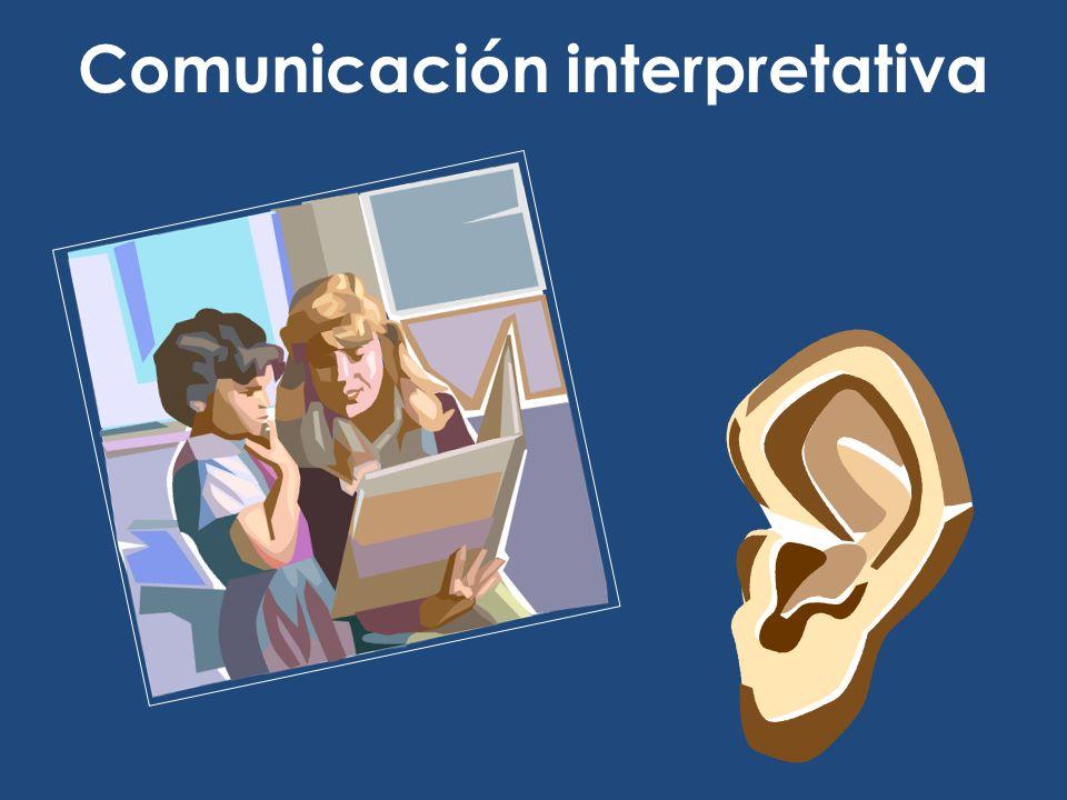 Comunicación interpretativa