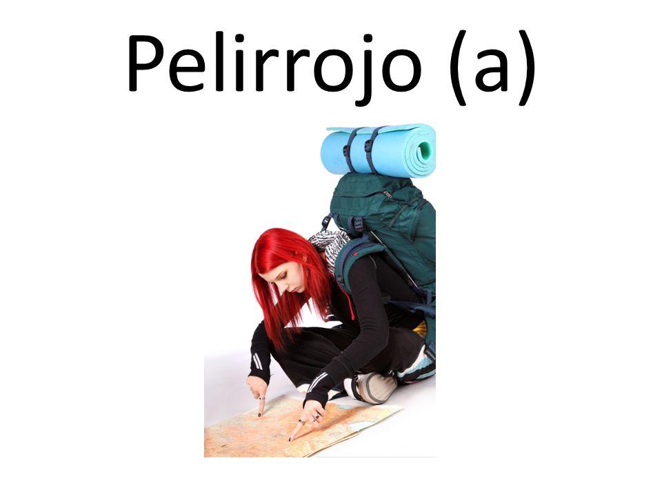 Pelirrojo (a)