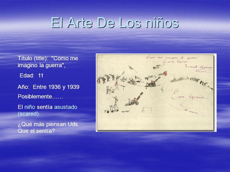 El Arte De Los niños Título (title):