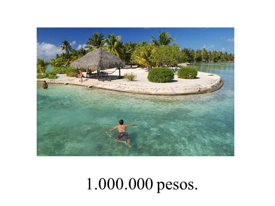1.000.000 pesos.