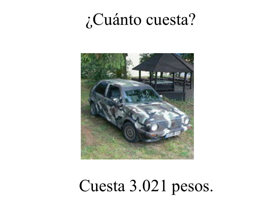 ¿Cuánto cuesta? Cuesta 60.000 pesos.