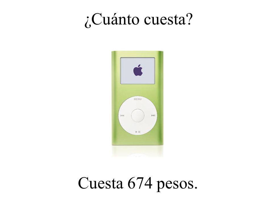 ¿Cuánto cuesta? Cuesta 801 pesos.